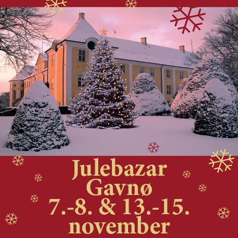 Julebazar Gavnø