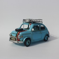Model bil, blå