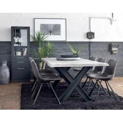 Ramona, spisebord i vildeg fra Canett Furniture