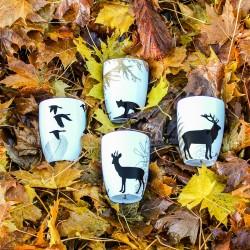 Mugs, set of 4 - by Brorson