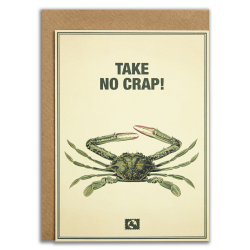 TAKE NO CRAP