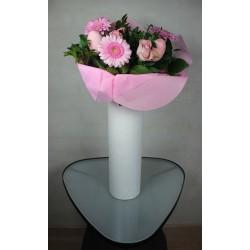Torn Edge Cylinder vase