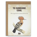 TO SOMEONE COOL - Julekort fra Message Earth