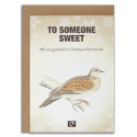 TO SOMEONE SWEET - Julekort fra Message Earth