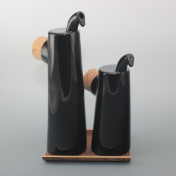 Oil and vinegar bottles Nokka