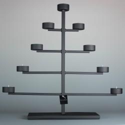 Pyramid Candleholder