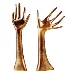 Figur udformet som hånd