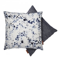 Cushion - Blue Aqua drops