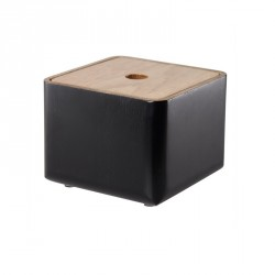 Storage Box, black-stained oak